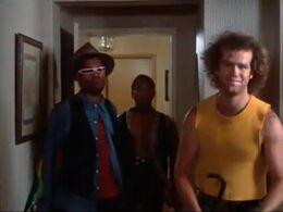 Nirvana's Gang in Paul's house