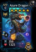 Azure dragon card