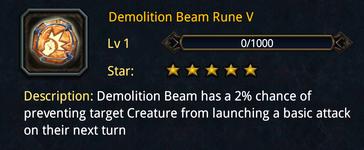 DemolitionBeamRune