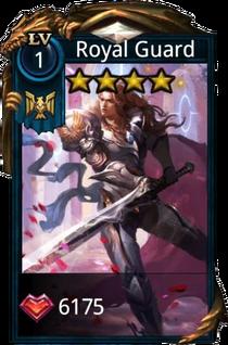 Royal Guard hero card