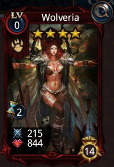 Wolveria creature card
