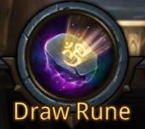 Draw Rune logo