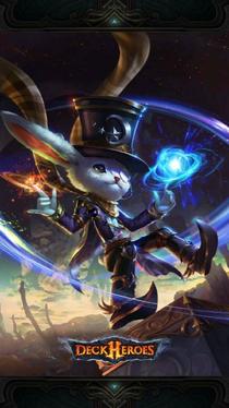 Cosmic Hare backdrop