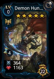 Demon Hunter creature card