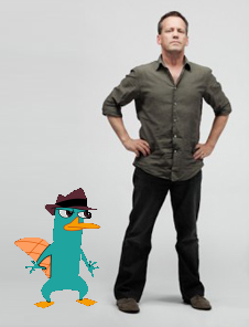 File:Perry the Platypus with Dee Bradley Baker.png