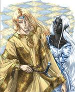Corellon with Eilistraee