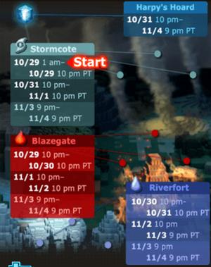 OoD schedule