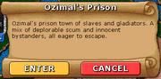 Ozimals prison