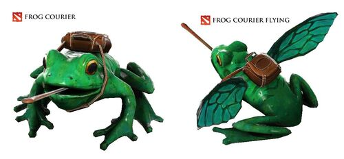 Frog-courier