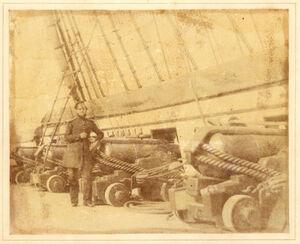 Officer on board the HMS Superb 1845.jpg