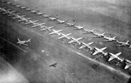 Market-Garden - C-47 transport planes