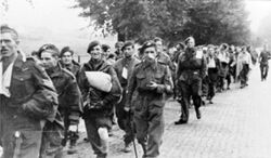 British paratroops being marched away by their German captors.jpg