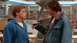 The breakfast club 1985 bender and andrew fight