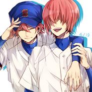 Ryousuke and harucchi