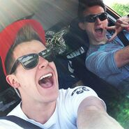 Ricky and Connor 2
