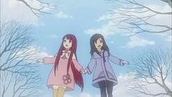 Saki and maria my angels