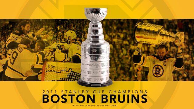 File:2011 Boston Bruins Stanley Cup Champions Wallpaper.jpg