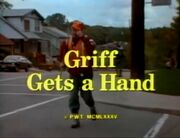Griff Gets a Hand