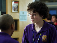 Wesley & Dave In Their Degrassi Uniforms Talking