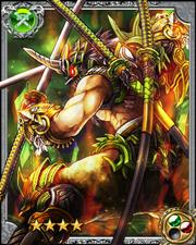 Bloodbath Warrior Rahu RR+