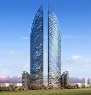 Almaty towers 21