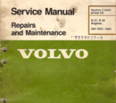 Volvo B27/B28 Engine Manual