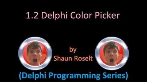 Delphi Programming Series 1.2 - Delphi Color Picker