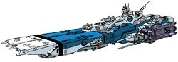 Valkyrie-1 Class Fleet Command Starship