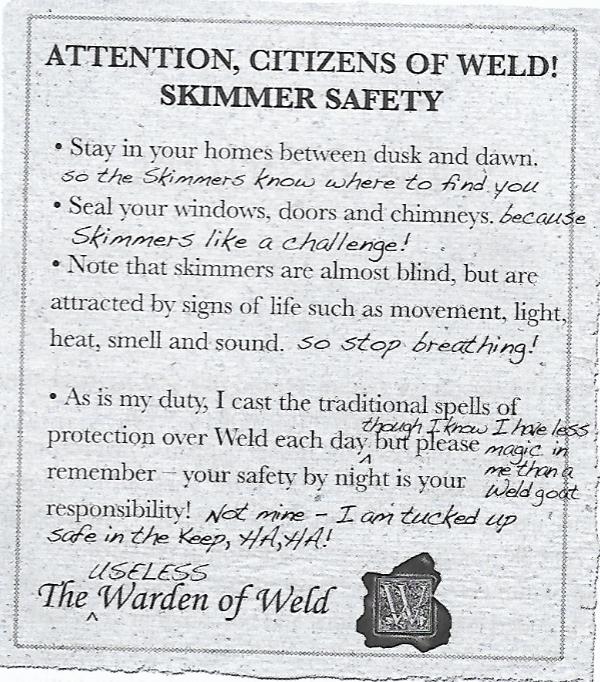 Warden Character Deltora Quest Wiki Fandom Powered