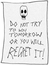 Threat note