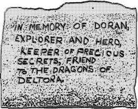 Dorans grave