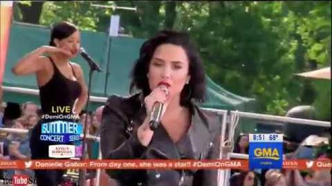 Demi Lovato - Cool for the Summer (LIVE Good Morning America 2016)