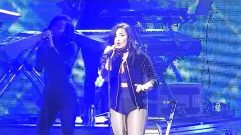 Stone Cold - Demi Lovato (KISS 108 Jingle Ball 2015)