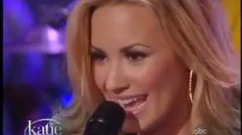Demi Lovato - Give Your Heart A Break Live Performance - The Katie Show - September 24th 2012