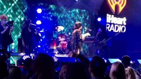 Demi Lovato - Stone Cold (Live at iHeart Radio, Kiss FM Jingle Ball 2015) Dallas, TX