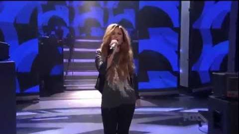 Demi Lovato - Give Your Heart A Break (Live on American Idol)