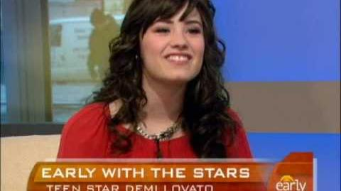 Demi Lovato On The Early Show