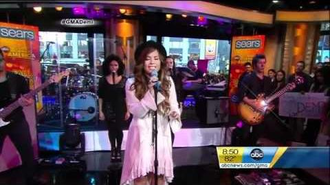 Demi Lovato - Skyscraper (Live from Good Morning America) 9 19 2011