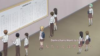 Demi-chan wa kataritai Episode 08