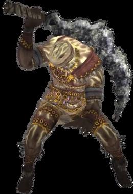Old Hero Render