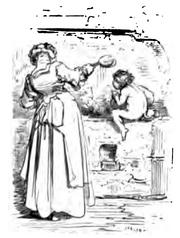 Woman with kobold baby