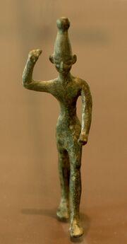 Baal Ugarit Louvre AO17330