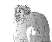 Kurosaki teru neck kiss