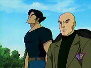 Professor Xavier & Logan