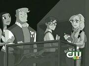Peter, Gwen, Flash, and Liz