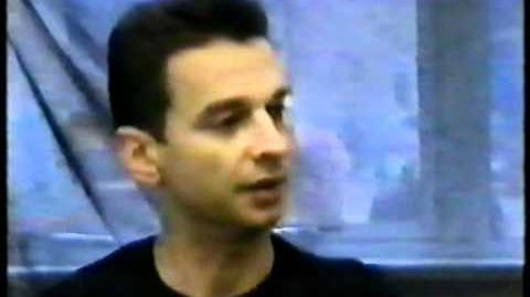Interview With Dave Gahan in 1998
