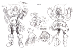 Kylier's design sketch