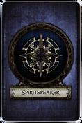 Spiritspeaker - Cardback