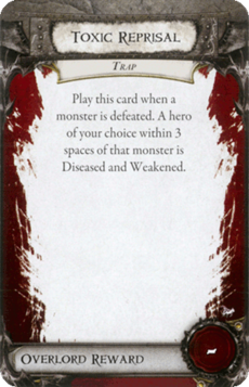Overlord Card - Toxic Reprisal