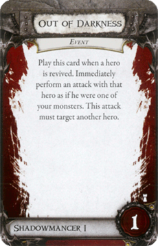 Overlord Card - Out of Darkness